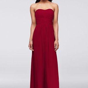 Strapless Long Ballgown Formal Prom Wedding Dress